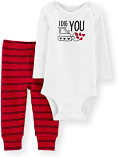 Carter's Just One You Valentine's Day Outfit - I Dig You, for Baby Boy or Girl