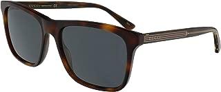 Sunglasses Gucci GG 0381 S- 009 HAVANA/BLUE