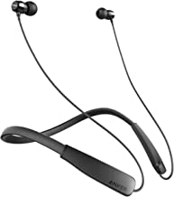 Ancker SoundBuds Rise Outdoor Activity Style Sports Bluetooth Wireless In-Ear Earbuds with Lightweight Neckband Headset, IPX5 Water Resistant Earbud Headphones with Built-in Mic (Non-Retail Packaging)