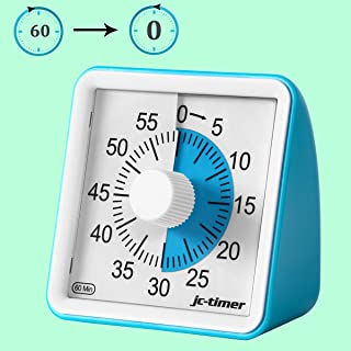 IVETTO Visual Timer Countdown Clock 60 Minute Time Management Tool