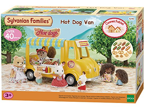 Sylvanian Families - Le Village - Le Camion Restaurant - 5240 - Commerce - Mini Poupées