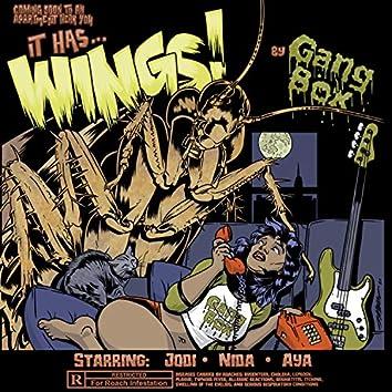 it has wings