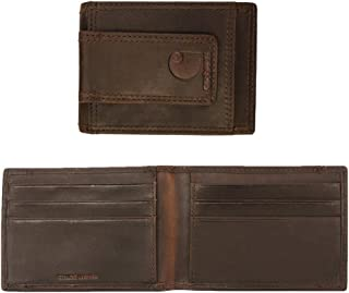 Men's Front Pocket Wallet, Brown, One Size