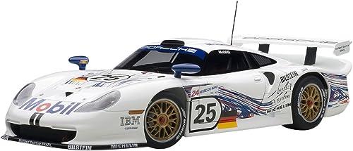 AUTOart 89772 Porsche 911 iftf g Drift Car Mobil Le Mans 1997 Echelle 1 18 WeißBlau