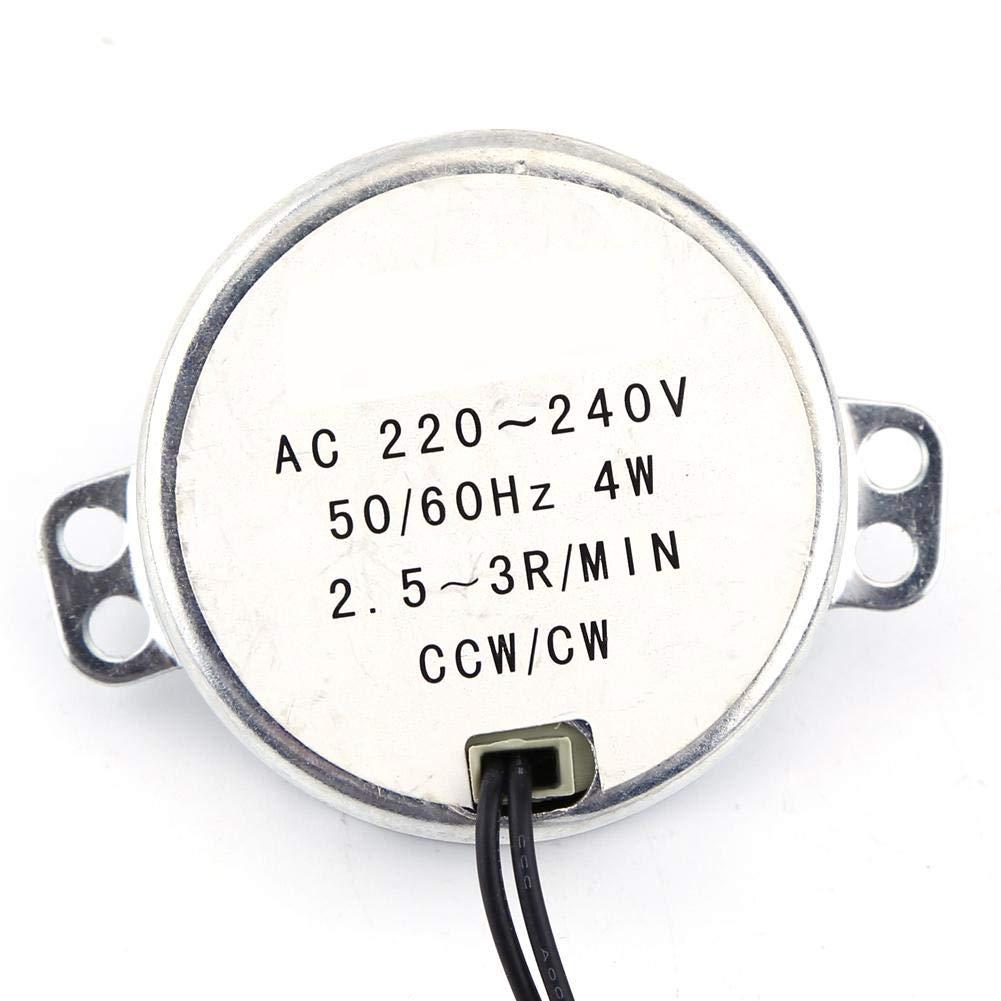 Synchronous Motor, 1pc 220-240V AC 4W CW/CCW 4W 50/60Hz Synchron