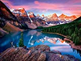 Buffalo Games - Mountains on Fire - 750 Piece Jigsaw Puzzle