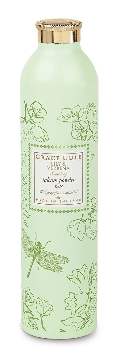 ストライド護衛他の日Grace Cole Floral Collection Lily and Verbena Talcum Powder 200g