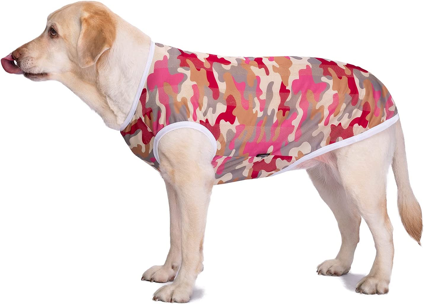 Pet Clothes Dog Shirt Camouflage Summer Vest T-Shirt Excellent Ranking TOP19 Sunscreen