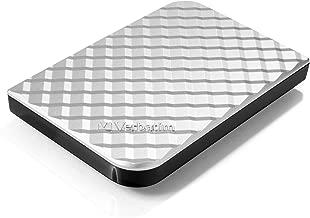 Verbatim 2TB Portable Hard Drive, - Store'n'Go - USB 3.0 - Compatible with USB 2.0 - PC / Mac - Diamond Silver