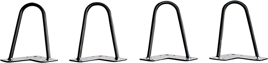 H8-2Rod-1//2 H8-2Rod-1//2 Two 1//2 inch of Cold-Rolled Steel Bending - Set of 4 Height 8 Inches HKYM YM-T8-2 Mrhardware Black Hairpin Metal Table Legs Two 1//2 inch of Cold-Rolled Steel Bending - Set of 4
