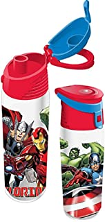 Marvel Avengers Florida Namedrop Pop Out Water Bottle, 9 Inch