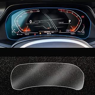 pel/ícula Protectora de la Pantalla del Tablero LCD del Coche Transparente OIOBOMBG Para Audi A6 2020 2019 2018 2017 2016 2015 2014 2013 2012 c8 c7 a7