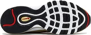 Nike Boy's AIR MAX 97 QS '17 (GS) Shoe Metallic Gold/RED/White