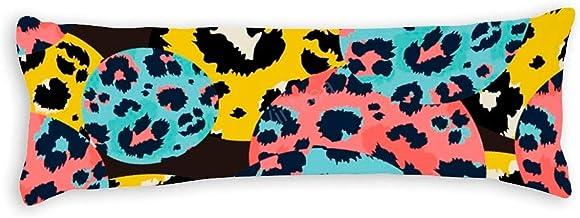 Soft Body Pillow Case Cover Leopard Print Long Body Pillow Cover Pillowcase 20x54 Inch