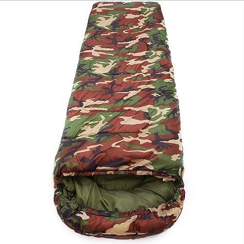 WYJW Sac de Couchage en Coton pour Camping 15  armée de Style enveloppe 5Degree ou Sacs de Couchage Militaire ou Camouflage