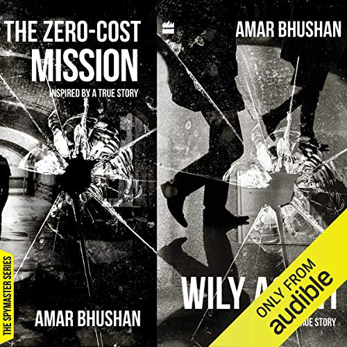 The Wily Agent & The Zero Cost Mission audiobook cover art