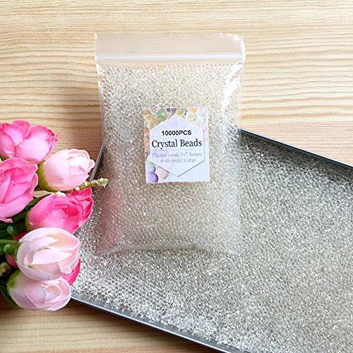 J&J - Paquete de 10.000 perlas de agua de gel de colores...