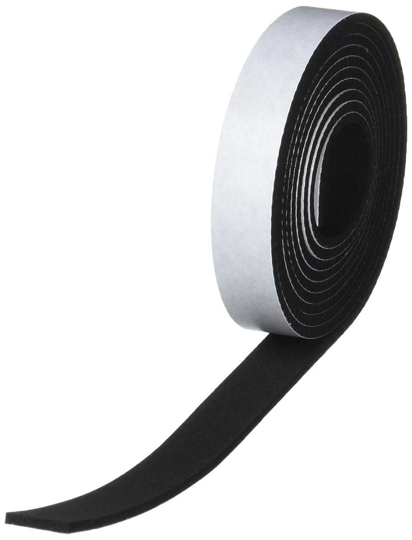 省パーセント禁止東京防音 防音戸当たりテープ TP-25 黒 幅15mm×長2M×厚2.5mm 2本入