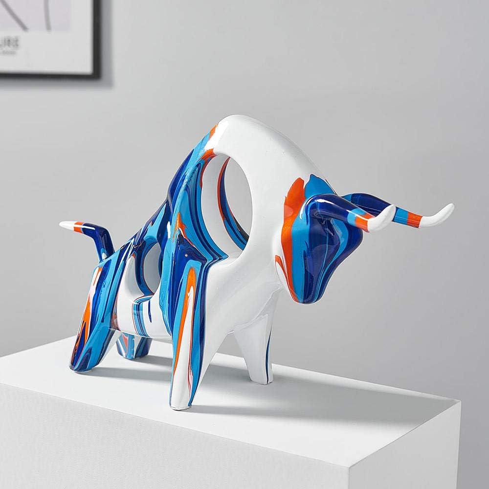 ZQQQC Sculptures Head San Jose Mall Sculpture Handmade Ani Cow Bust Boston Mall