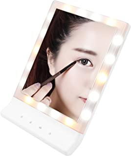 Thinp Make Up Mirror with 18 LED Lights - Large Touch Screen Wall Mount Makeup Light