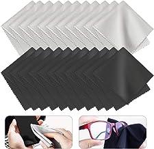 PERFETSELL 20 Pcs Paños Microfibra Gafas Limpia Gafas Trapos Microfibra Paño para Limpiar Lentes Limpieza de Gafas Paños Limpia Gafas Trapo Magical para Lentes Gafas Cámaras Teléfono Pantallas