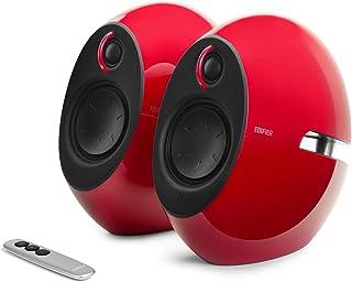 EDIFIER Luna E25 zestaw designerskich głośników z Bluetooth (74 W), czerwony E25HD RED
