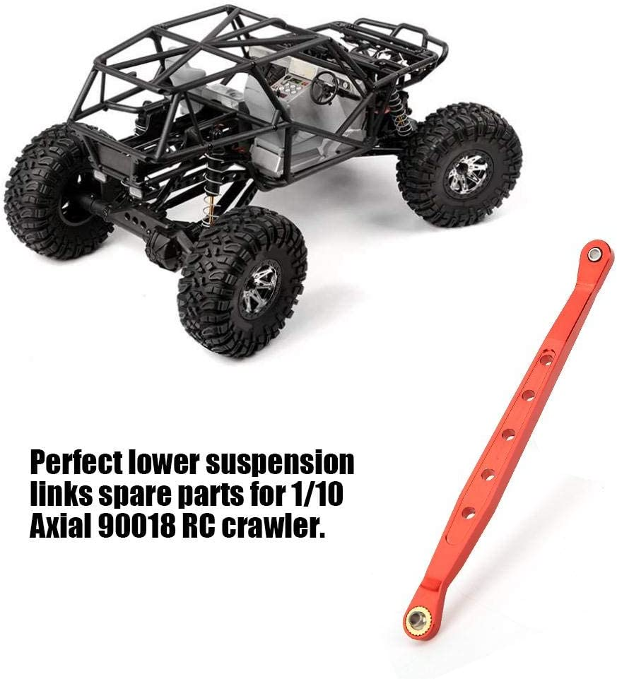 T best Lower Suspension Links 1:10 Scale Aluminium Alloy Remote Control Lower Suspension Links RC Crawler Upgrade Parts Accessory for 1//10 Axial 90018 RC Crawler