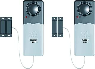 Techko S024 Door Security Alarm, 8 Ounces, Silver