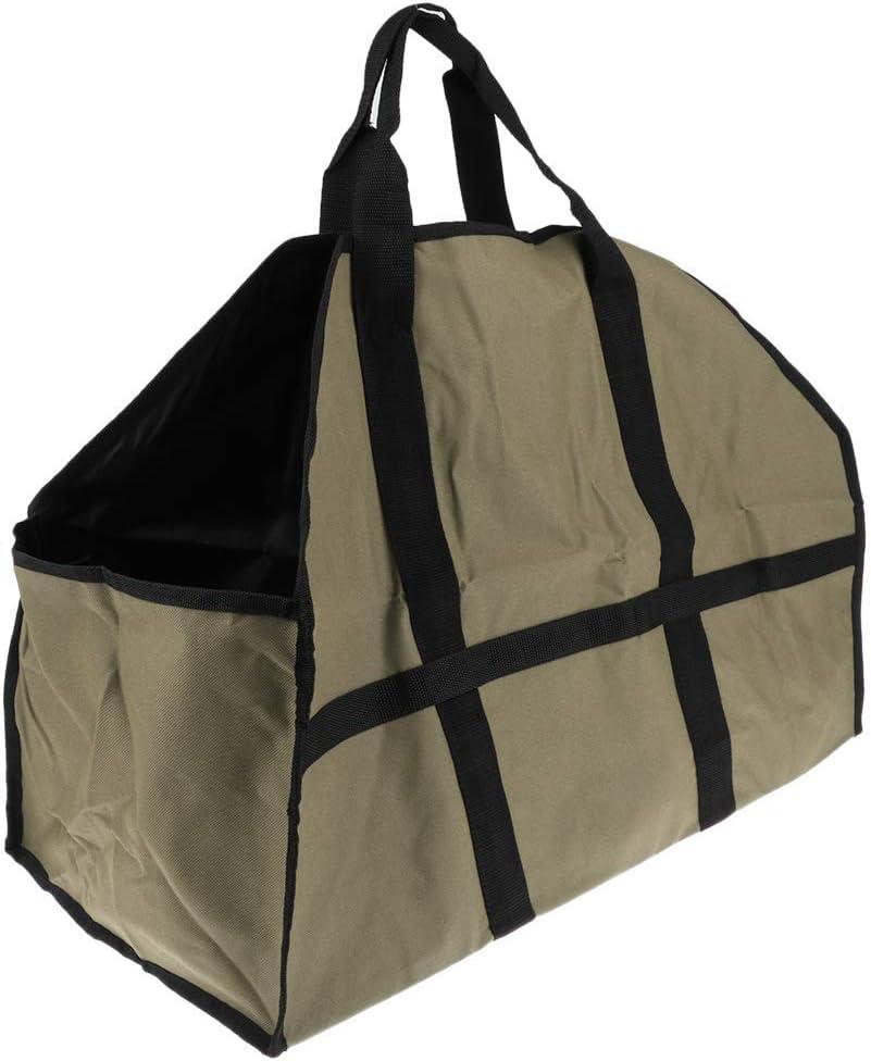 specialty shop Backbayia Large Firewood Tote Bag fo Carrier Regular discount Holder Log