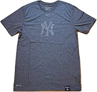 Nike New York Yankees Tri-Blend DNA Performance T-Shirt – Heathered Navy