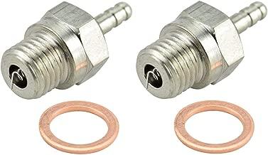 Apex RC Products Heavy Duty Medium (OS #8 Equivalent) Nitro Glow Plug - 2 Pack #9700