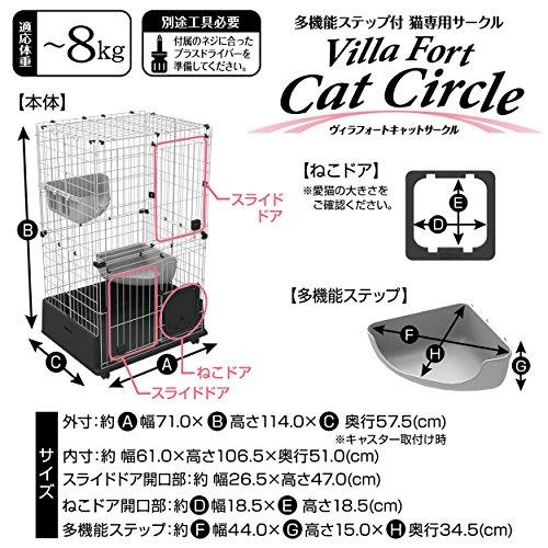 アドメイトヴィラフォートキャットサークル猫用キャット