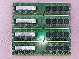 Hynix 4GB 4 x 1GB PC2-5300U DDR2 667 Non-ECC Unbuff Memory Kit HYMP512U64CP8-Y5