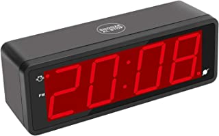 KWANWA Digital Alarm Clock Large Display with 1.8