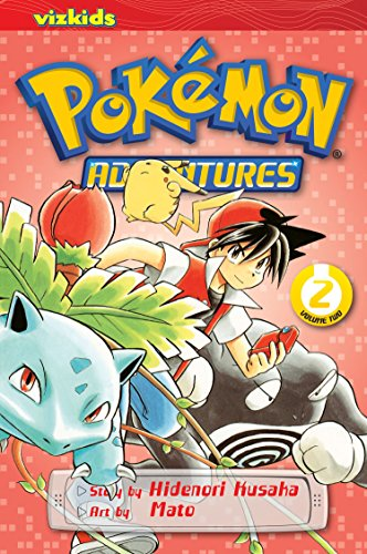 POKEMON ADVENTURES GN VOL 02 RED BLUE