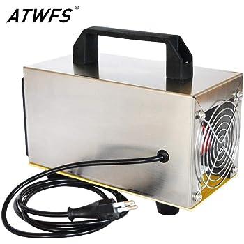 ATWFS Purificador de Aire Generador de ozono 220V 20g Filtro de ...