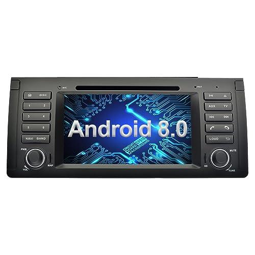 Ohok 7 Pulgadas 1 DIN Autoradio Android 8.0 Oreo Octa Core 4GB Ram 32GB ROM Reproductor