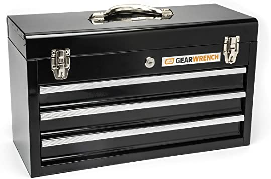 GEARWRENCH 20inch 3 Drawer Steel Tool Box, Black - 83151: image