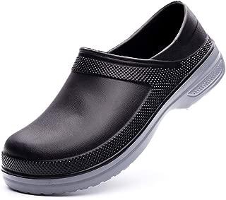 EASYANT Unisex Chef Shoes Waterproof Non-Slip Nursing Clean Work Footwear Clogs