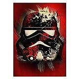 Star Wars Metall-Poster Masked Troopers Splatter 32 x 45 cm