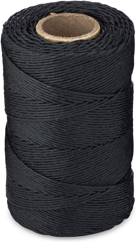 Shipping included Waxed Twine 160 LBS Tensile Max 66% OFF Strength 1 feet 005 1-Roll roll