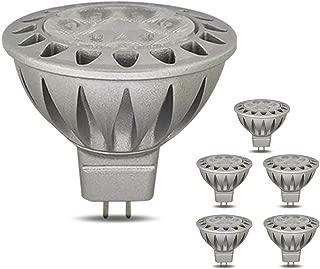 Yamihan MR16 LED Bulb 2700K Warm White 50 Watt Equivalent Halogen, 7W AC/DC 12V MR16 Spot Led Light Bulb, GU5.3 Base, 38 Deg, 560LM, Non Dimmable, 6 Pack