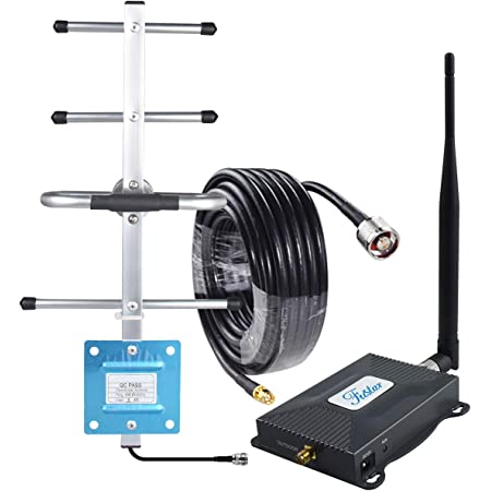 Cell Phone Signal Booster Verizon 4G LTE Signal Booster Band 13 Cell Phone Booster Verizon 4G LTE Network Extender Cell Booster Repeater Home 4G Booster Yagi Antenna Kit 65dB Boosts Voice/Data