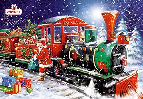 Windel Santa Express Jumbo Chocolate Advent Calendar