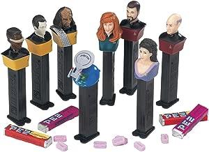 PEZ Star Trek Next Generation 25th Anniversary Edition Collectible Set of 8