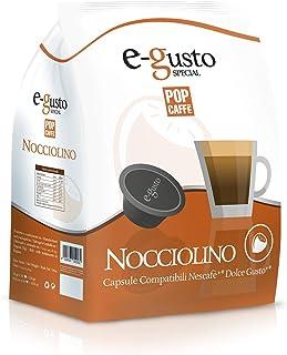 POP CAFFE' Nescafé Dolce Gusto, compatible 48 capsules à la noisette.