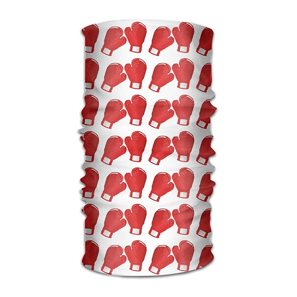 Owen Pullman Multifunctional Headwear Boxing Red Gloves Head Wrap Elastic Turban Sport Headband Outdoor Sweatband