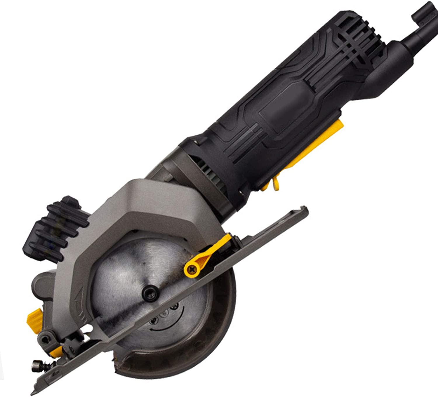 Super intense SALE hdbees Mini Circular Saw 45mm Guide Fi Max 51% OFF Laser with