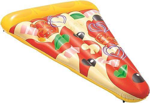 ATYMD Luftmatratze Wasser Aufblasbares Pool Lilo - Erwachsene Pizza Slice Party Lounger Float
