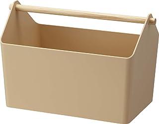 山崎実業 おもちゃ収納 収納ボックス ファボリ ベージュ 3466